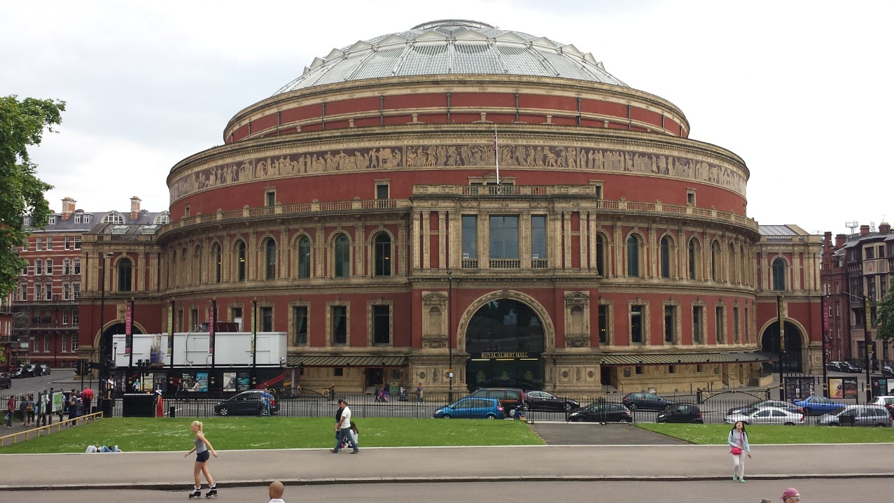 royal albert hall trasporti teatrali