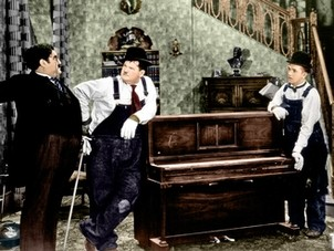 trasporto pianoforti oliver hardy stan laurel piano transportation